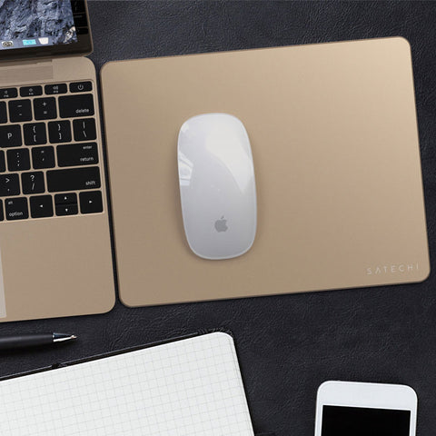 Satechi Aluminium Mouse Pad With Non-slip Rubber Base