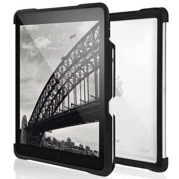 Shop Australia stock STM DUX SHELL SLEEK CASE FOR IPAD AIR 10.5 INCH/ iPAD PRO 10.5 - BLACK with free shipping online. Shop STM collections with afterpay