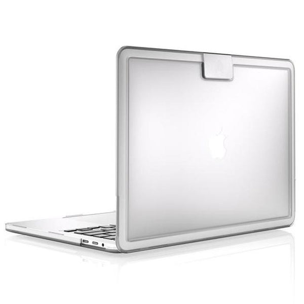 buy genuine and authentic stm hynt case for macbook pro 15 inch (usb-c) w/touch bar clear australia