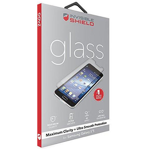 Shop Australia stock ZAGG Invisible Shield Glass Screen Protector for Samsung Galaxy S5 with free shipping online. Shop Zagg collections with afterpay Australia Stock