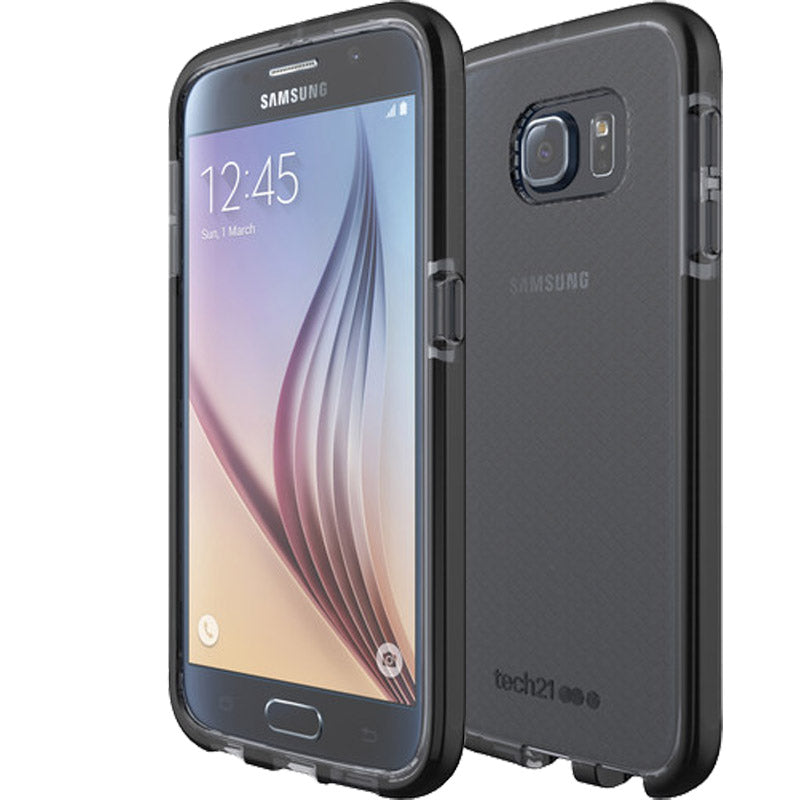 Tech21 Evo Check Case for Galaxy S6 - Smokey/Black Colour Australia Stock
