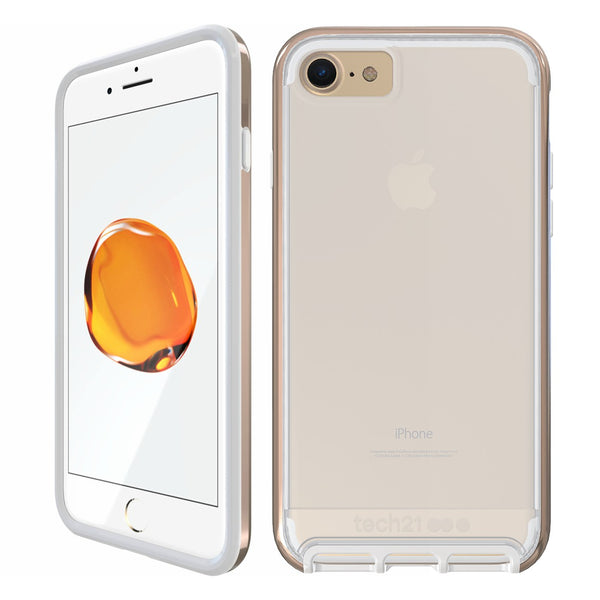 Shop Australia stock Tech21 Evo Elite FlexShock Case for iPhone 8/7 - Polished Gold with free shipping online. Shop TECH21 collections with afterpay