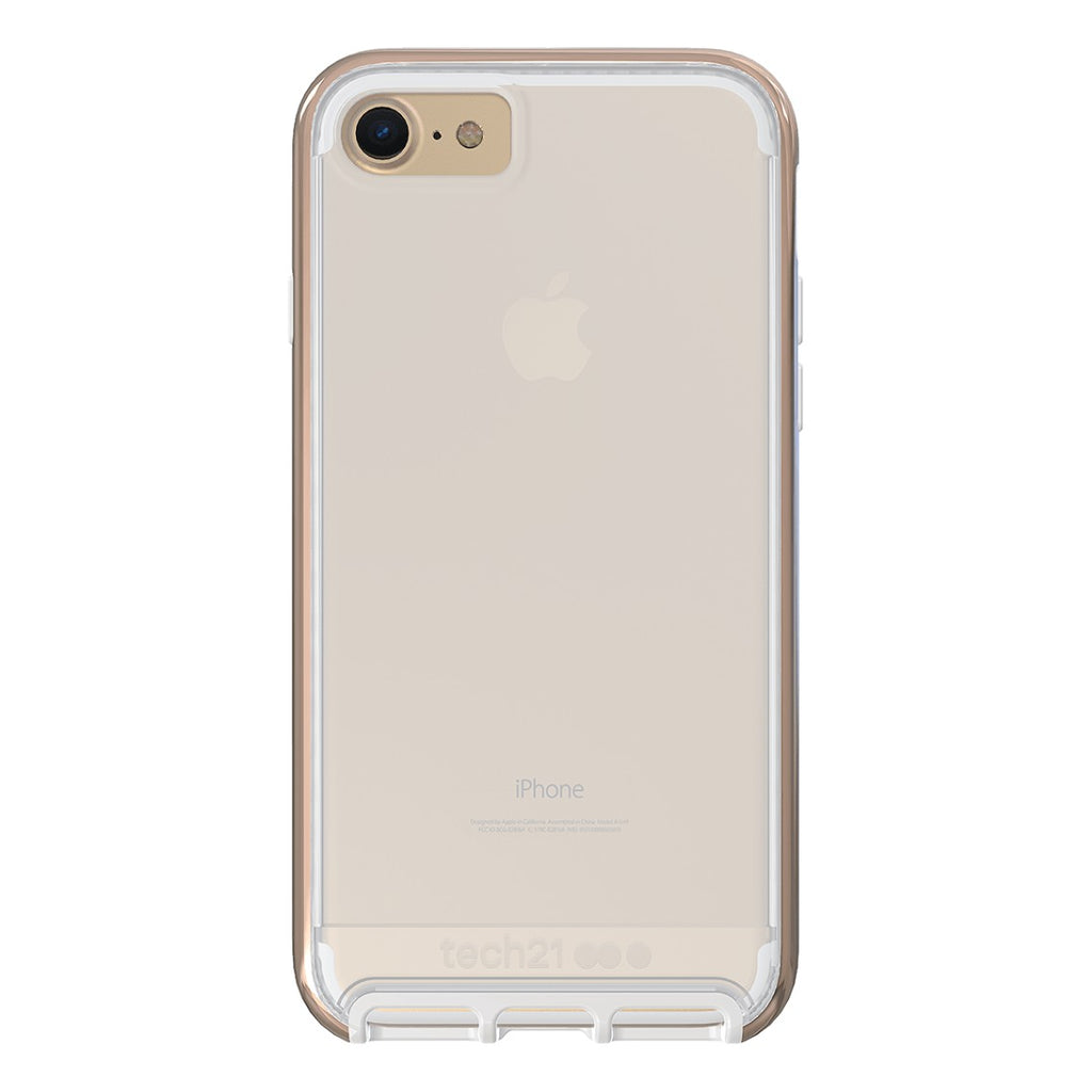 Shop Australia stock Tech21 Evo Elite FlexShock Case for iPhone 8/7 - Polished Gold with free shipping online. Shop TECH21 collections with afterpay Australia Stock