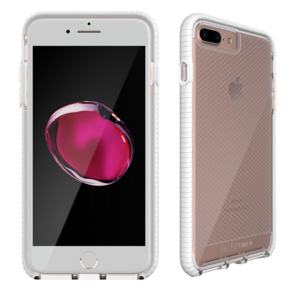 Shop Australia stock Tech21 Evo Check Flexshock Case for iPhone 8 Plus/7 Plus - Clear/White with free shipping online. Shop TECH21 collections with afterpay