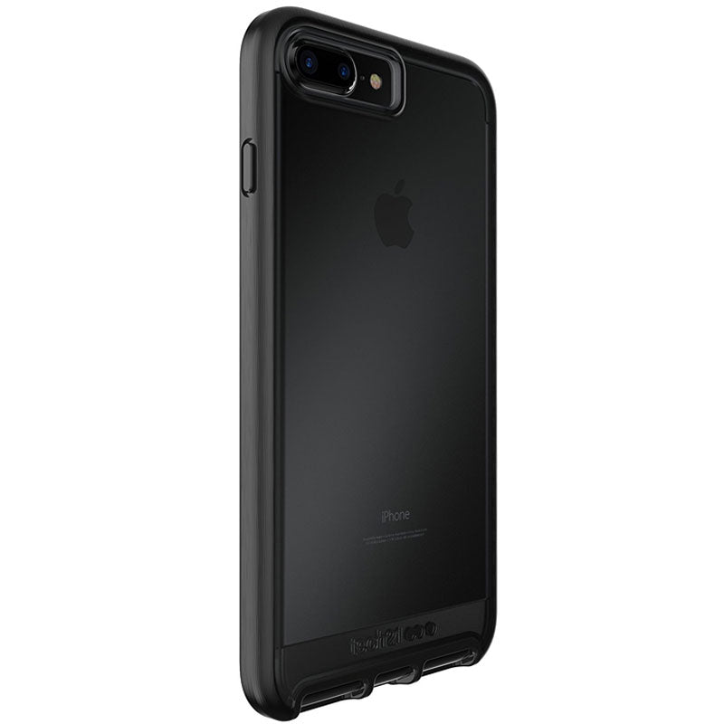 where to buy Genuine Tech21 Evo Elite FlexShock Case for iPhone 8 Plus/7 Plus - Brushed Black Colour Syntricate Australia Australia Stock