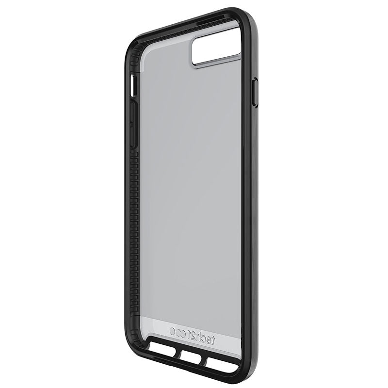 Authorized online store Tech21 Evo Elite FlexShock Case for iPhone 8 Plus/7 Plus - Brushed Black Colour Syntricate Australia Australia Stock