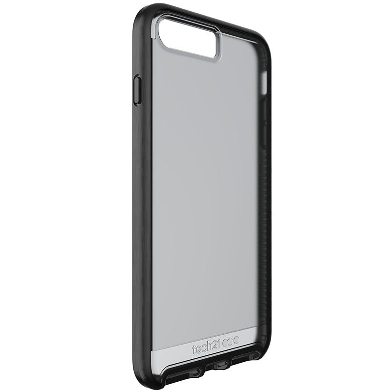Tech21 Evo Elite FlexShock Case for iPhone 8 Plus/7 Plus - Brushed Black Colour Syntricate Australia Australia Stock