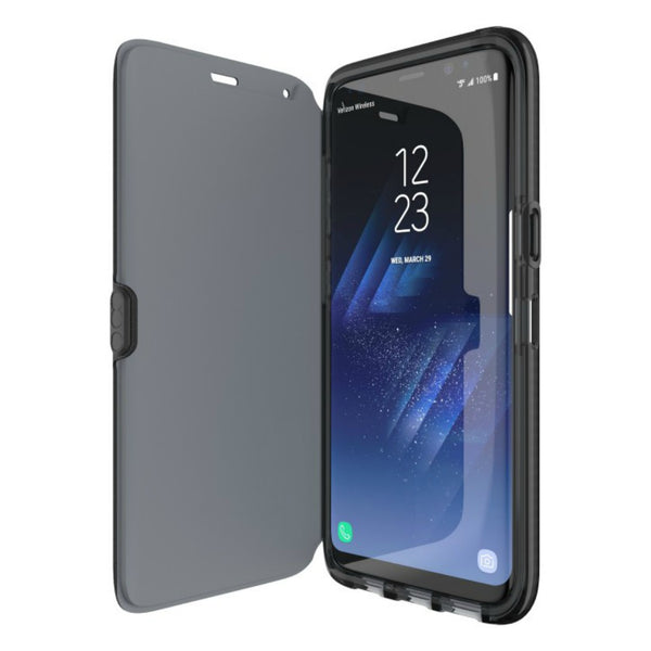 Shop Australia stock Tech21 EVO WALLET FLEXSHOCK FOLIO CASE FOR GALAXY S8+ (6.2 inch) - BLACK with free shipping online. Shop TECH21 collections with afterpay