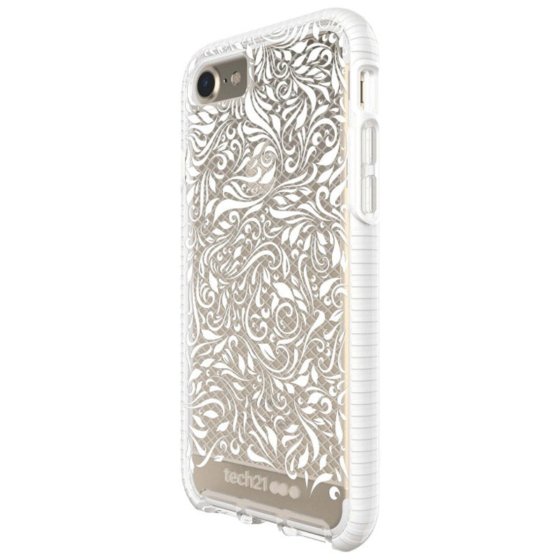 Shop Australia stock TECH21 EVO CHECK LACE EDITION CASE FOR IPHONE 8/7 - CLEAR/WHITE with free shipping online. Shop TECH21 collections with afterpay Australia Stock