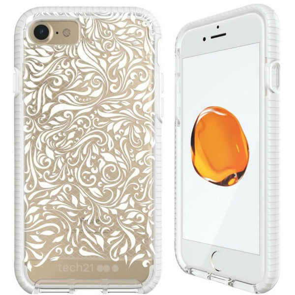Shop Australia stock TECH21 EVO CHECK LACE EDITION CASE FOR IPHONE 8/7 - CLEAR/WHITE with free shipping online. Shop TECH21 collections with afterpay
