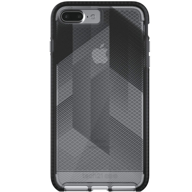 best place to buy genuine TECH21 EVO CHECK URBAN EDITION CASE FOR IPHONE 8 PLUS/7 PLUS - BLACK/SMOKEY Australia Stock