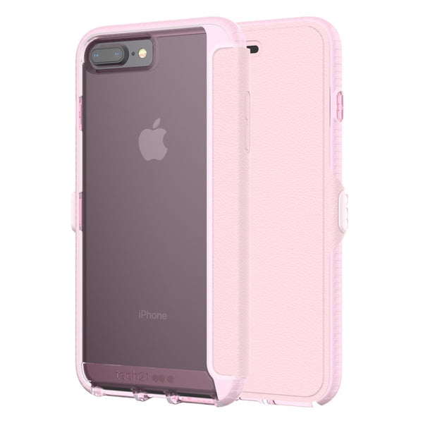 Shop Australia stock TECH21 EVO WALLET FLEXSHOCK FOLIO CASE FOR iPHONE 8 PLUS/7 PLUS - ROSE with free shipping online. Shop TECH21 collections with afterpay