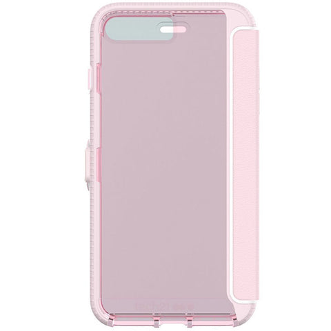 where to get genuine TECH21 EVO WALLET FLEXSHOCK FOLIO CASE FOR iPHONE 8 PLUS/7 PLUS - ROSE