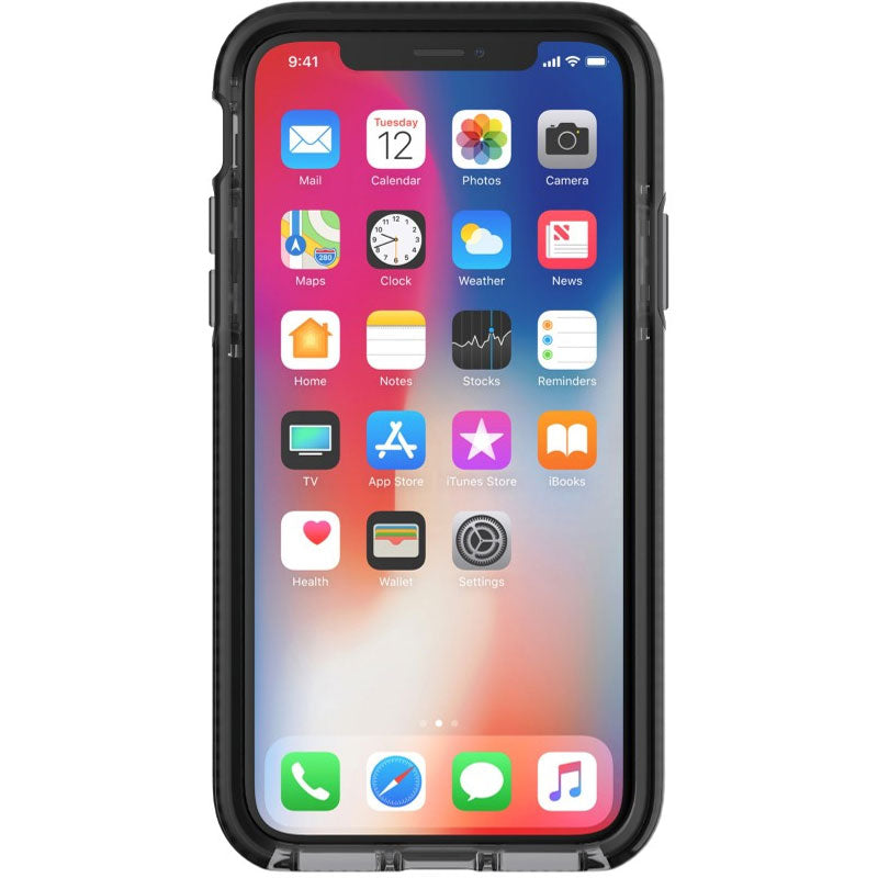 place to find and get tech21 evo check flexshock case for iphone x - smokey Australia Stock