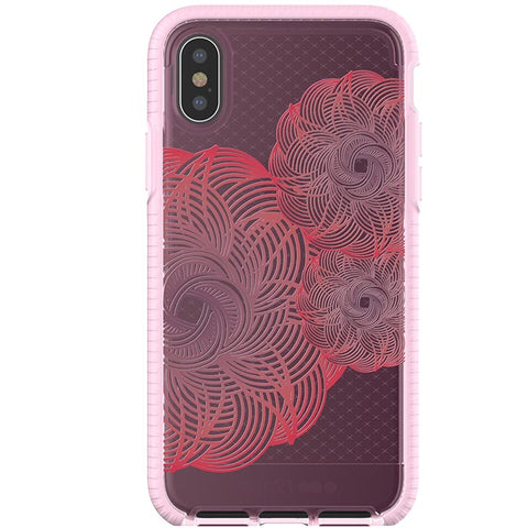 PLACE TO BUY TECH21 EVO CHECK EVOKE EDITION CASE FOR IPHONE X - PINK/RED SYNTRICATE AUSTRALIA