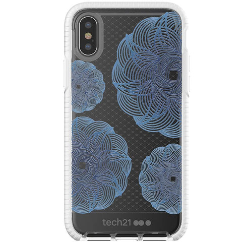 WHERE TO BUY TECH21 EVO CHECK EVOKE EDITION CASE FOR IPHONE X - CLEAR/BLUE COLOR
