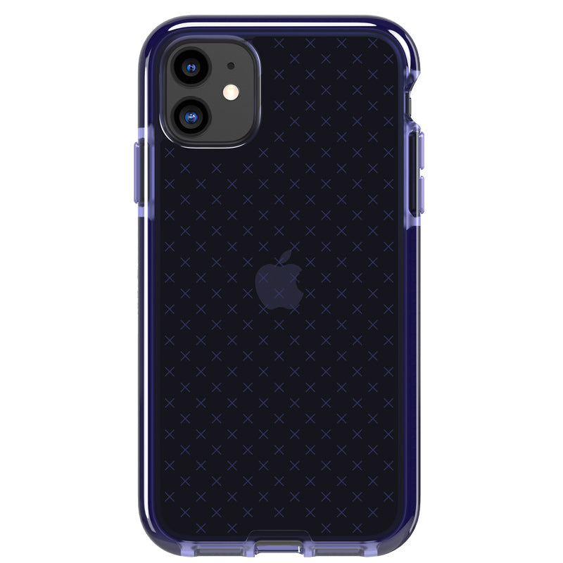 shop online purple clear case for iphone 11 with afterpay payment Australia Stock