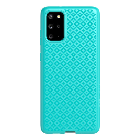 "Shop Australia stock TECH21 Studio Design Case For Galaxy S20 Plus (6.7"") - Aqua with free shipping online. Shop TECH21 collections with afterpay"