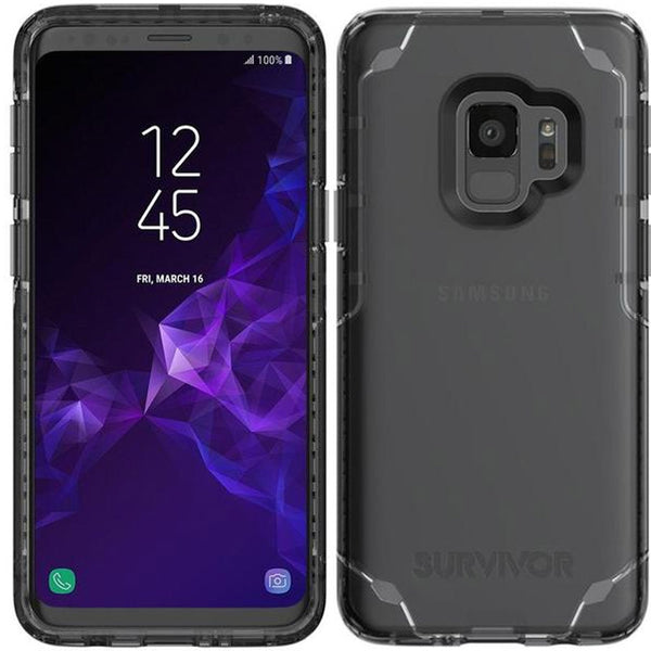 GRIFFIN SURVIVOR STRONG CASE FOR GALAXY S9 - BLACK/TINT