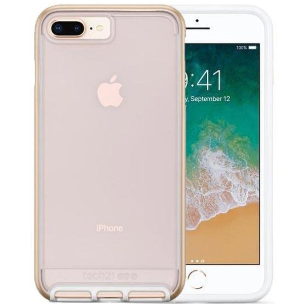 Get the latest EVO ELITE FLEXSHOCK CASE FOR IPHONE 8 PLUS/ 7 PLUS - GOLD FROM TECH21 with free shipping online.