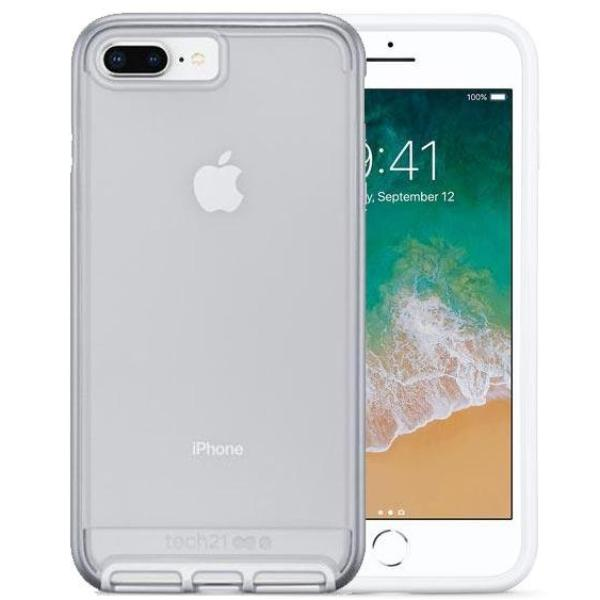 Get the latest stock EVO ELITE FLEXSHOCK CASE FOR IPHONE 8 PLUS/ 7 PLUS - SILVER FROM TECH21 free shipping & afterpay.