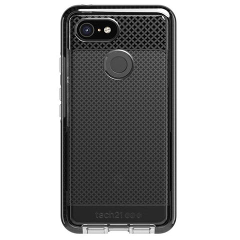Place to buy EVO CHECK CASE FOR GOOGLE PIXEL 3 - SMOKEY BLACK FROM TECH21 online in Australia free shipping & afterpay.