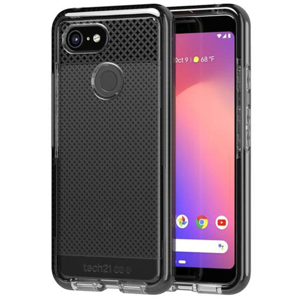 Get the latest EVO CHECK CASE FOR GOOGLE PIXEL 3 - SMOKEY BLACK FROM TECH21 with free shipping online.