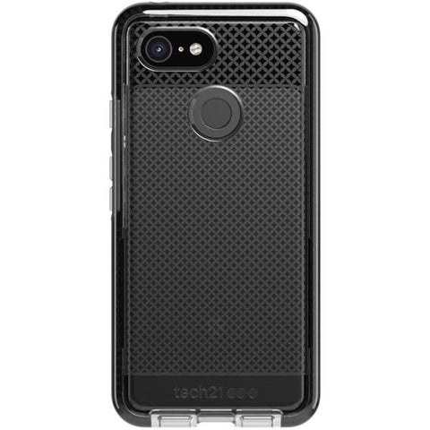 Place to buy EVO CHECK CASE FOR GOOGLE PIXEL 3 XL - SMOKEY BLACK FROM TECH21 online in Australia free shipping & afterpay.