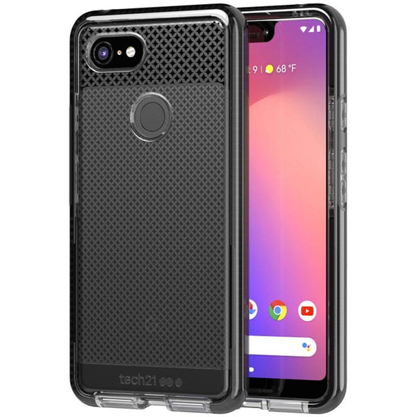 Get the latest EVO CHECK CASE FOR GOOGLE PIXEL 3 XL - SMOKEY BLACK FROM TECH21 with free shipping online.