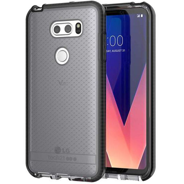 Grab it fast EVO CHECK CASE FOR LG V30+ PLUS - SMOKEY BLACK FROM TECH21 with free shipping Australia wide.