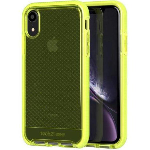 iphone xr flexshock case yellow colour from tech21. buy online with afterpay and free shipping.