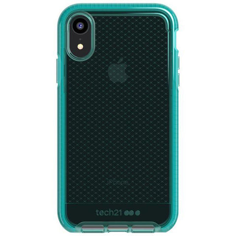 iphone xr flexshock case green vert colour. evo check series from tech21 australia. free shipping, return warranty & afterpay payment.