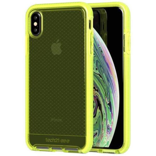 Grab it fast EVO CHECK FLEXSHOCK CASE FOR IPHONE XS/X - NEON YELLOW FROM TECH21 with free shipping Australia wide.