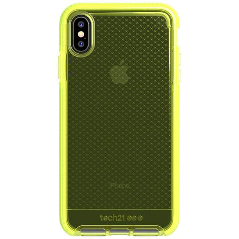 Get the latest stock EVO CHECK FLEXSHOCK CASE FOR IPHONE XS MAX - NEON YELLOW FROM TECH21 free shipping & afterpay.