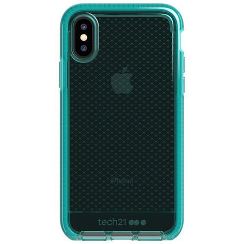 Place to buy EVO CHECK FLEXSHOCK CASE FOR IPHONE XS MAX - VERT From TECH21 collections with afterpay.