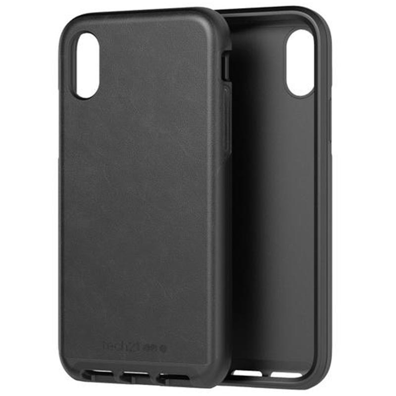 Shop Australia stock TECH21 EVO LUXE FAUX LEATHER FLEXSHOCK CASE FOR IPHONE XS MAX- BLACK with free shipping online. Shop TECH21 collections with afterpay Australia Stock