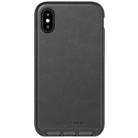 Get the latest stock EVO LUXE FAUX LEATHER FLEXSHOCK CASE FOR IPHONE XS MAX - BLACK FROM TECH21 free shipping & afterpay.