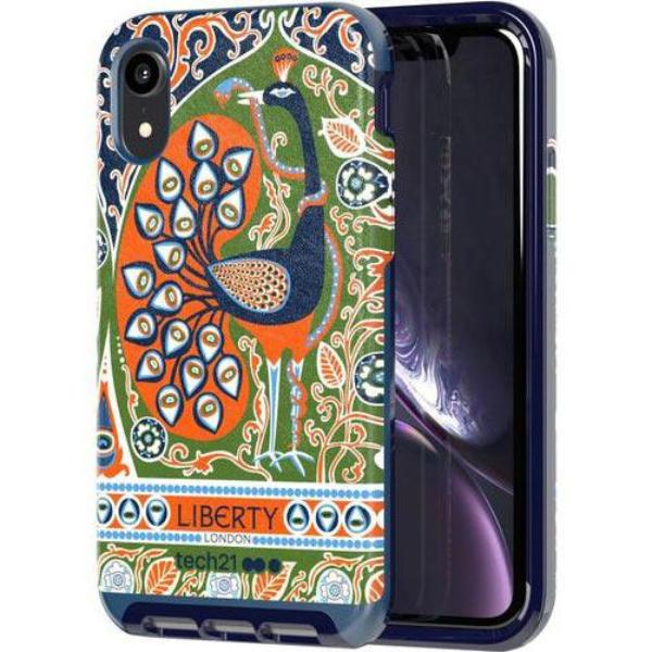 iphone xr design case liberty francis pattern from tehch21 australia.shop online at syntricate and enjoy afterpay payment with interest free.