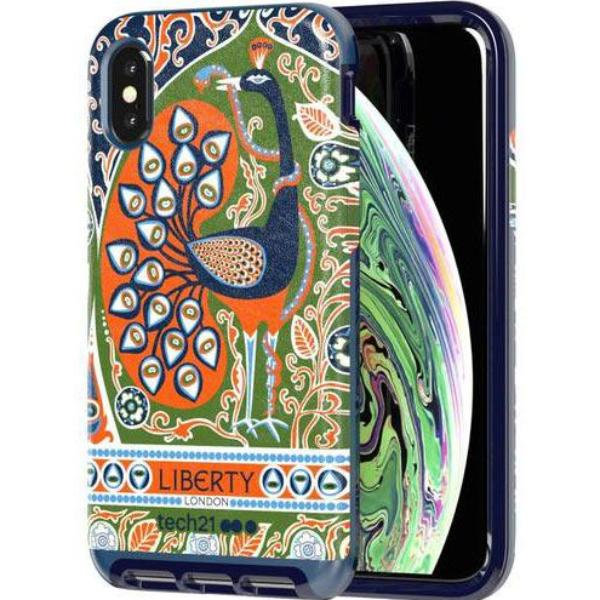 Grab it fast EVO LUX PRINT LIBERTY FRANCIS DESIGN CASE FOR IPHONE XS/X - BLUE FROM TECH21 with free shipping Australia wide.