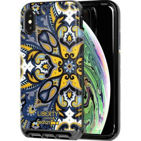 Get the EVO LUX PRINT LIBERTY MARHAM DESIGN CASE FOR IPHONE XS MAX - BLUE FROM TECH21 with free shipping online.
