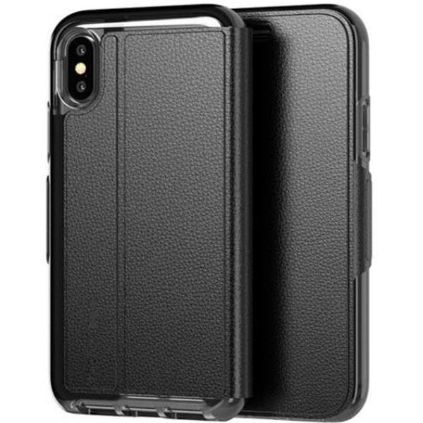 best sneakers d15f1 4338d TECH21 EVO WALLET CARD FOLIO CASE FOR IPHONE XS MAX - BLACK