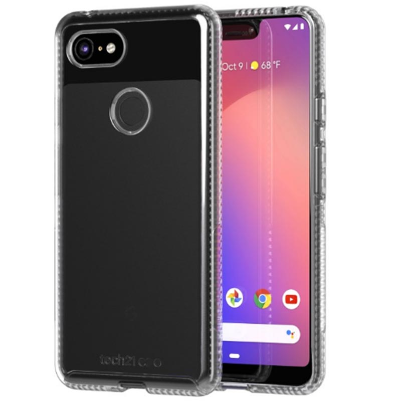 27722bf94b808f Google Pixel 3 Xl Pure Clear Case From Tech21 Australia