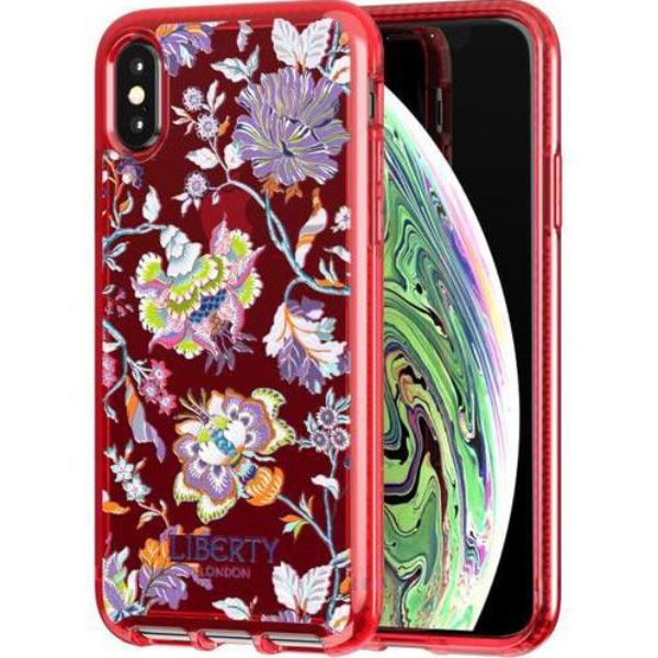 Get the PURE PRINT LIBERTY CHRISTELLE DESIGN CASE FOR IPHONE XS/X - RED FROM TECH21 with free shipping online.