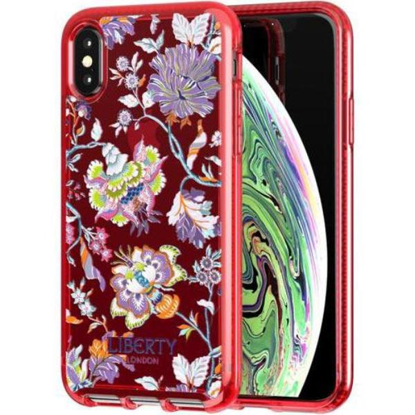 Grab it fast PURE PRINT LIBERTY CHRISTELLE DESIGN CASE FOR IPHONE XS MAX - RED FROM TECH21 with free shipping Australia wide.
