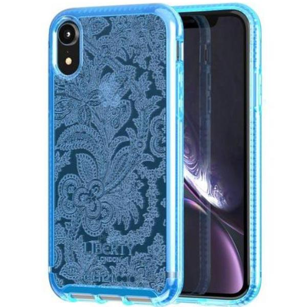 get the iphone xr design case liberty grosvenor pattern blue colour. Shop Online from Australia biggest online Case & Accessories.