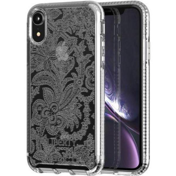 pattern clear case for iphone xr from tech21. grab it fast and protect your device with return warranty & afterpay payment