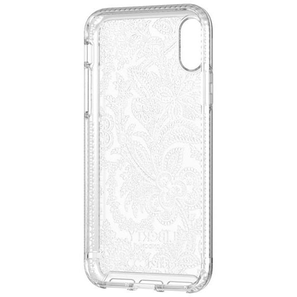 TECH21 PURE PRINT LIBERTY GROSVENOR DESIGN CASE FOR IPHONE XS/X - CLEAR Australia Stock