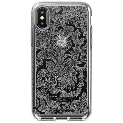 Place to buy PURE PRINT LIBERTY GROSVENOR DESIGN CASE FOR IPHONE XS MAX - CLEAR FROM TECH21 online in Australia free shipping & afterpay.