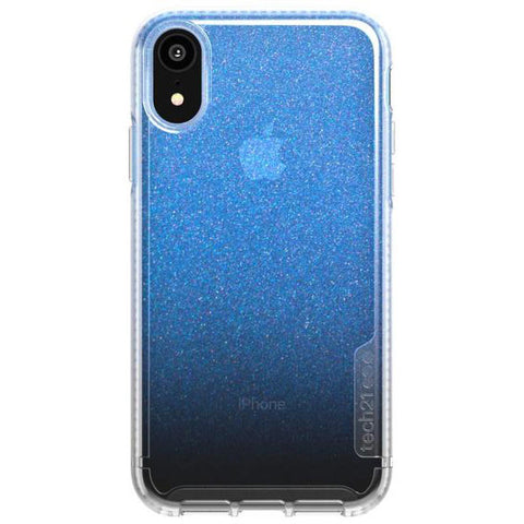 shimmer bulletshield case for iphone xr colour blue from tech21. Australia authentic from authorised reseller with afterpay & return policy.