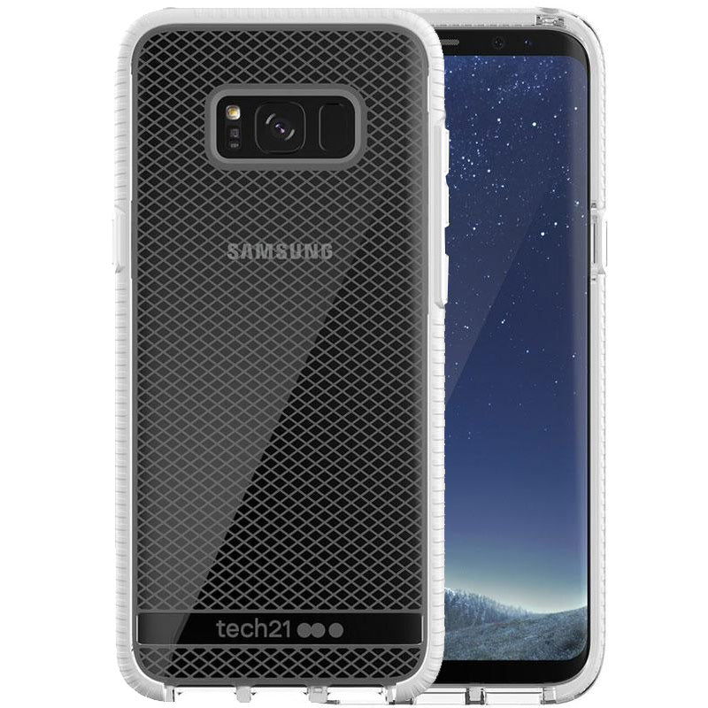 Shop Australia stock Tech21 EVO CHECK FLEXSHOCK CASE FOR GALAXY S8+ (6.2 inch) - CLEAR/WHITE with free shipping online. Shop TECH21 collections with afterpay Australia Stock